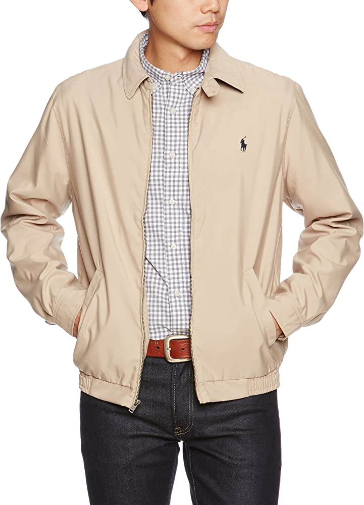 Polo Ralph Lauren Mens Bi-Swing Windbreaker Jacket: Amazon.es ...