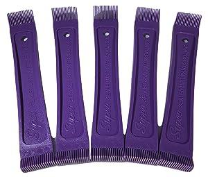 Supco Fin Combs, 22 & 24 Fins Per Inch, Model FC2224, 5 Pack