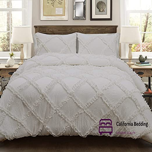 Duvet Cover Set Egyptian Cotton 800 TC 3 PCs Duvet Cover 1 Duvet+2 Pillowcase