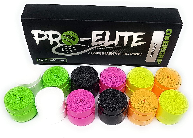 overgrips Pro Elite Premium Perforados (Elige Tus Colores). Caja 10+2 unds.