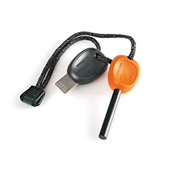 Light my Fire Swedish Firesteel 2.0 Scout Pedernal de Magnesio, Orange, M