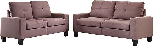 ACME Platinum II Sofa Loveseat