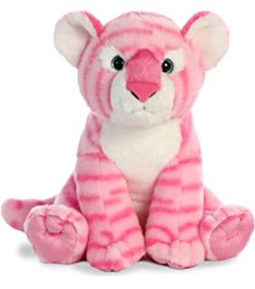 Plush Toy Stuffed Animal pink Gifts For Kids Wild Republic Tiger Plush Cuddlekins 12 Inches 12342