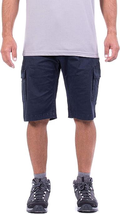 Jeep, Pantalones Cortos de algodón para Hombre con Bolsillos Laterales, Pantalones Cortos para Hombre, Efecto Viscosa: Amazon.es: Ropa y accesorios