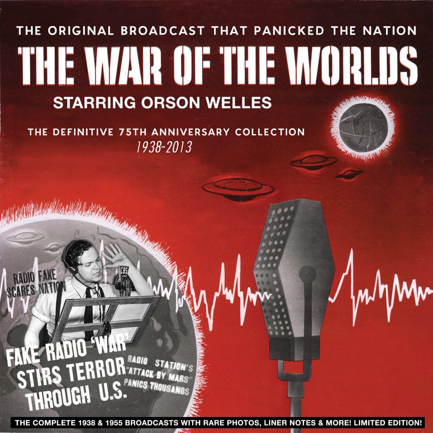 The War Of The Worlds - The Definitive 75th Anniversary Collection 1938-2013 by Cleopatra