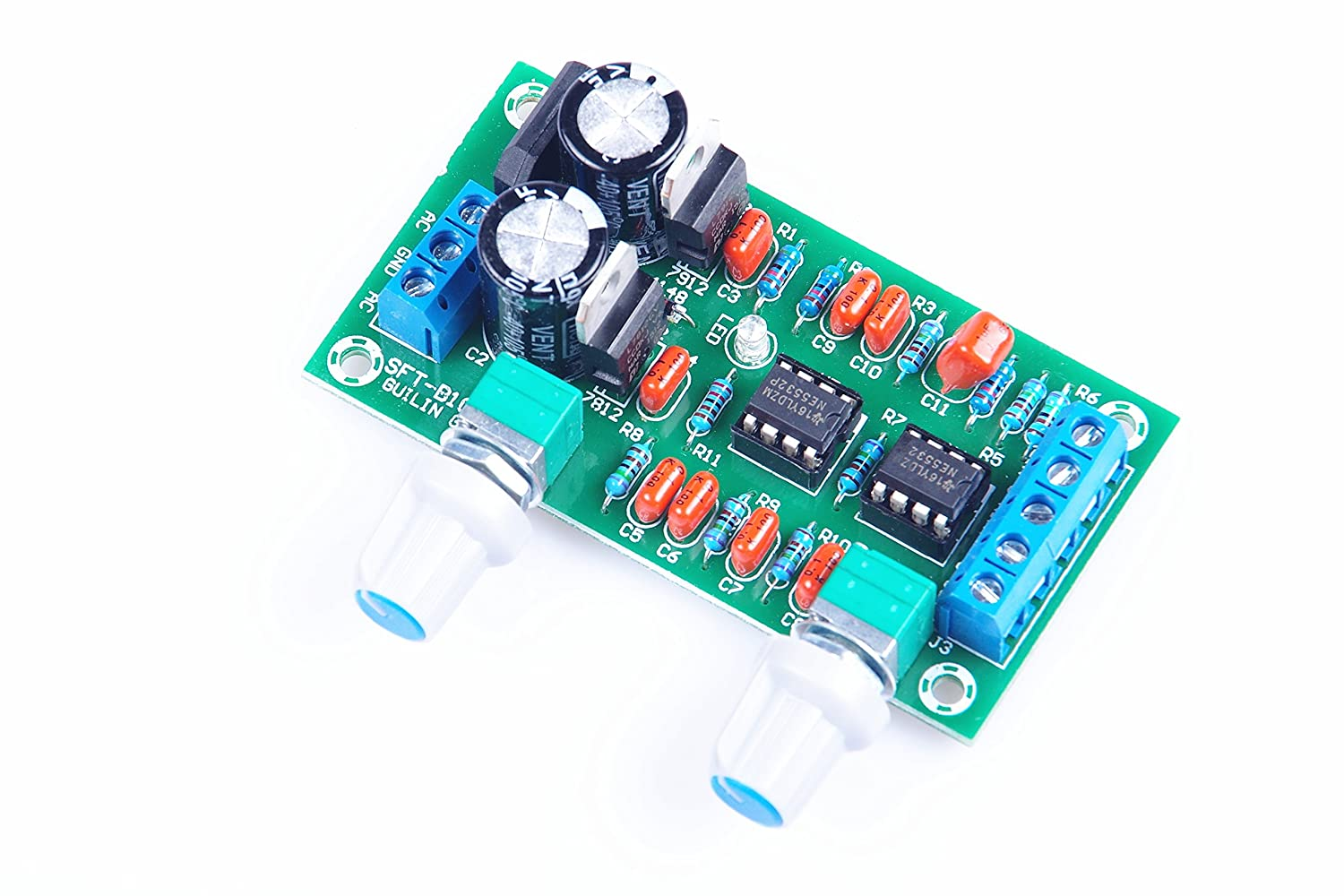 Knacro Ne5532 Low Pass Board Filter Preamp Operation Amplifier Lowpass Circuit Lightcontrol Control Subwoofer Cannon Pitch Hi Fi Home Audio Theater
