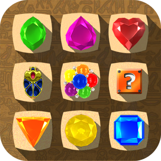 Jewel Drops - Match three puzzle -