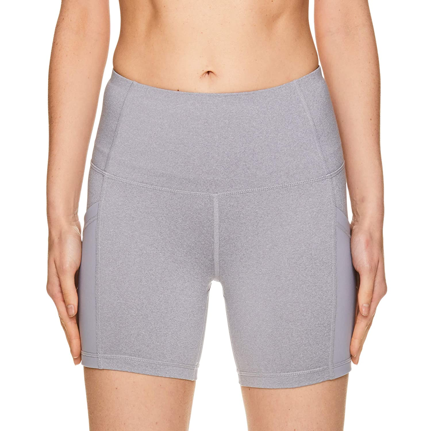 da67740ab839 Amazon.com: Reebok Women's Compression Running Shorts - High Waisted  Performance Workout Short: Clothing