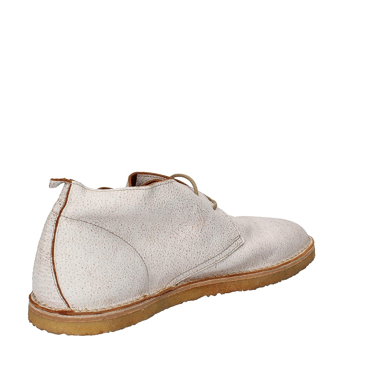 Boots 42 Blanc Eu Moma Desert Homme Cuir 6gfy7b