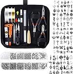 Jewelry Making Kit, Audab Jewelry Making Supplies Jewelry Tools Kit Wire