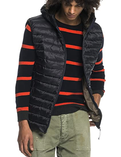 Mens Classic Quilted Hooded Bodywarmer in Nylon Quality Gilet Scotch & Soda Reliable Cheap Price Huge Surprise Outlet Store Cheap Online 100% Authentic Cheap Price iNj5428z