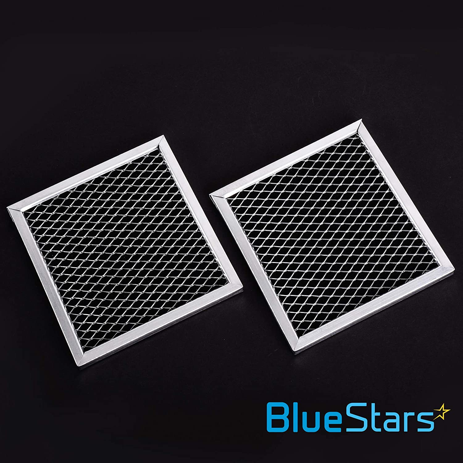 Replaces 8206230 AP4299744 PS1871363 Exact Fit For Whirlpool /& Maytag Microwaves Ultra Durable 8206230A Microwave Charcoal Filter Replacement part by Blue Stars PACK OF 3
