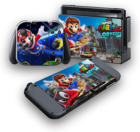 Super Mario Odyssey Protective Vinyl Skin Decal Cover For
