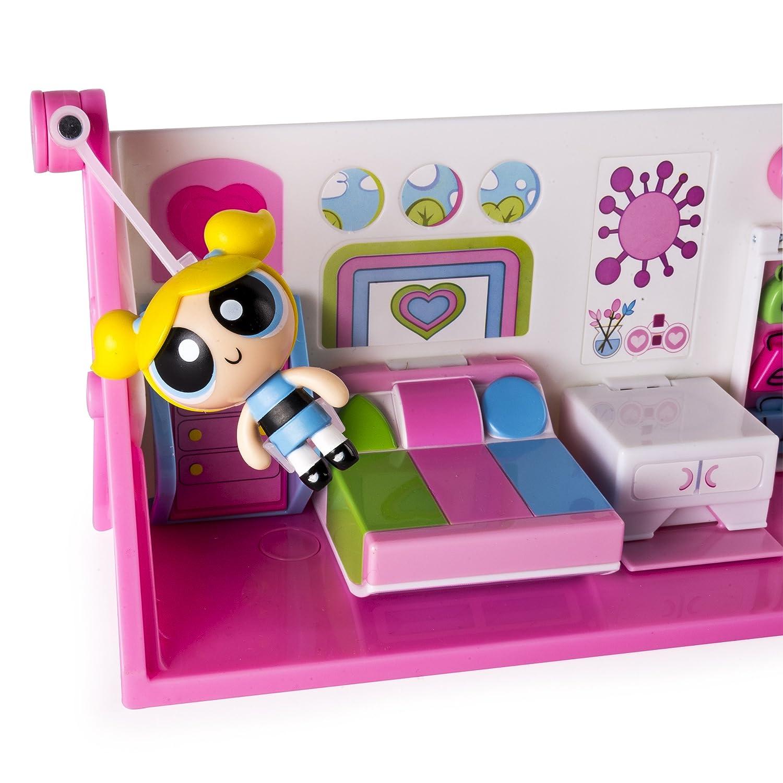 Amazoncom Powerpuff Girls Flip To Action Playset Toys Games