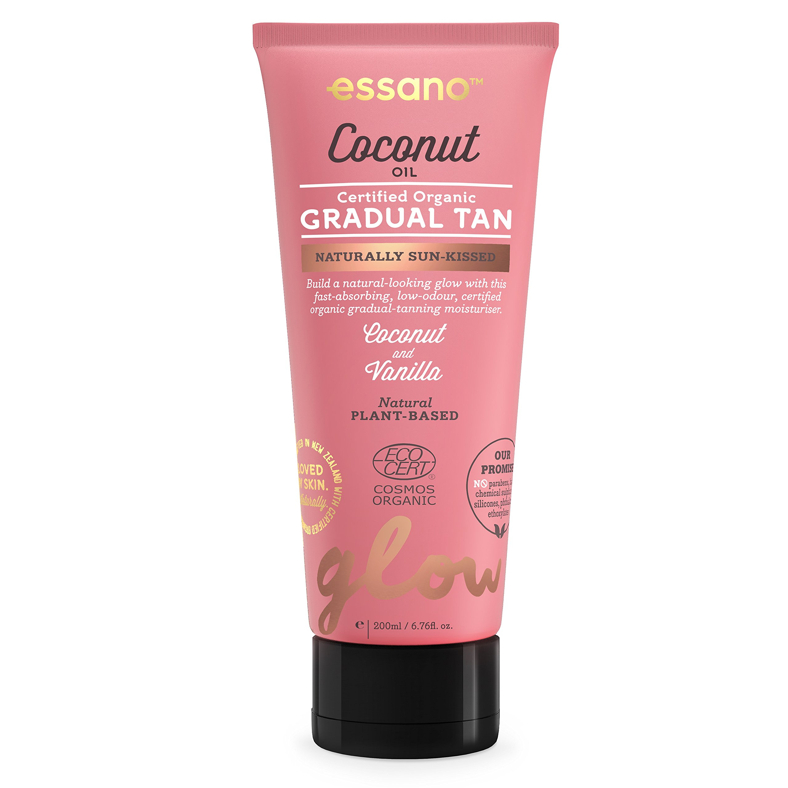 Essano Coconut Oil Gradual Tan, 200ml (6.6oz) by Essano