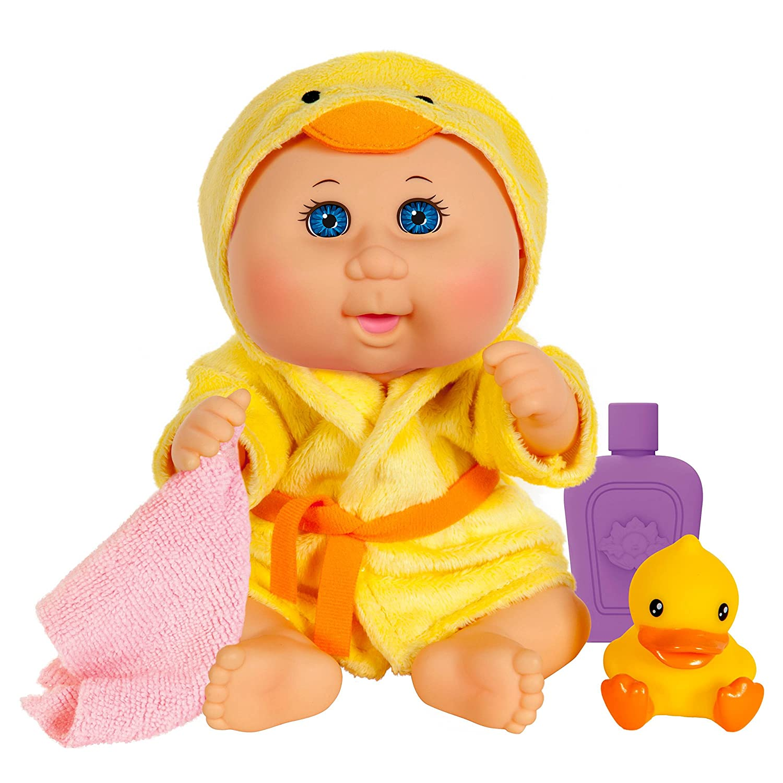 Yellow Duck W.C.T SG/_B075C8ZCDV/_US Cabbage Patch Kids Bubble N Bath Bathtime Doll