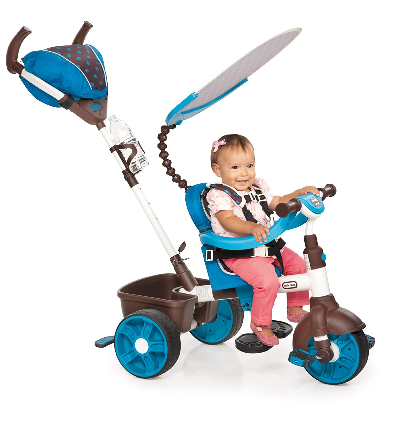 $98.46(was $171) Little Tikes 4-in-1 Trike Ride On, Blue/White, Sports Edition