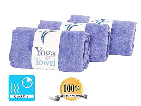Super suave grande multiusos toalla para Yoga (183 x 61 cm) – no Slip