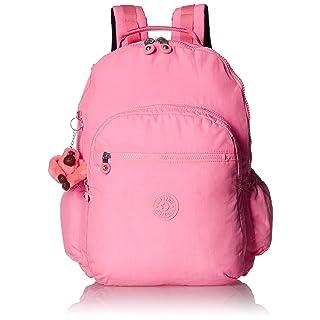 Kipling womens Seoul Go XL Laptop Backpack, Padded, adjustable Backpack Straps, Zip Closure, conversation heart tonal, One Size