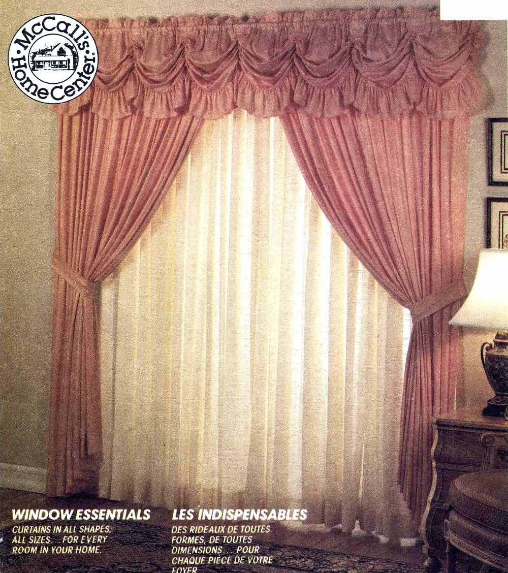Curtains Window Treatments McCalls 5223 Sewing Pattern