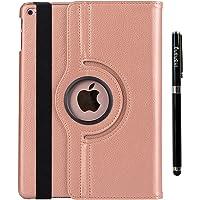 inshang iPad 2018 Cover Custodia iPad 2018 2017 Air Air 2 Cover Case - La Rotazione a 360 Gradi, Supporto, Magnetico per Sleep e Standby Logo Pennino di Alta Classe