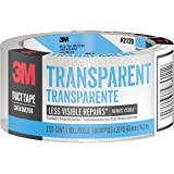 3M  Transparent Duct Tape, 2120-C, 1.88 Inches by 20 Yards