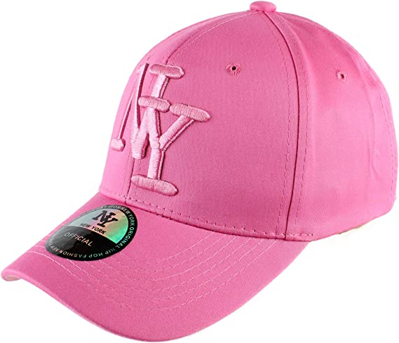 Gorra NY para Mujer, Hip Hop, béisbol Snapback Rosa, Capucha ...