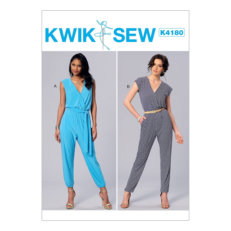 KWIK-SEW PATTERNS Kwik Sew Mustern Schnittmuster Jumpsuits und ...