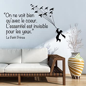 Adesiviamo   Le Petit Princeu0026nbsp;u0026ndash;u0026nbsp;Decorative Wall Sticker With  Writing U0026ldquo Part 78