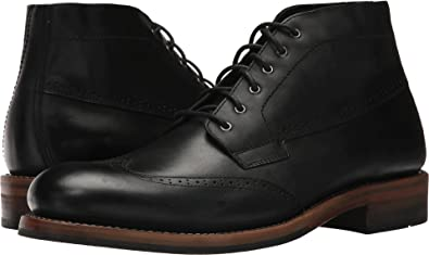 1b4462e9b11 Amazon.com | Wolverine Heritage Men's Harwell Chukka Black Leather ...
