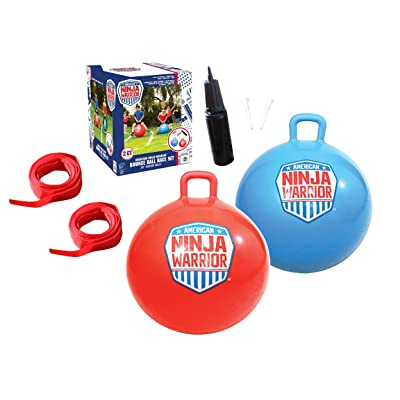 American Ninja Warrior Bounce Ball Set: Toys & Games
