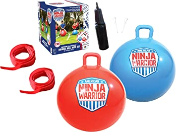 Amazon.com: American Ninja Warrior Bounce - Juego de bolas ...