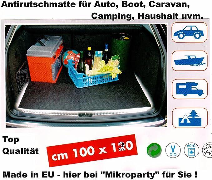 Antirutschmatte Pkw Kfz Auto Kofferraumauskleidung Sicherheit Matte 130x100 Cm Auto