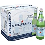 San Pellegrino Sparkling Water -Glass - 12 x 750 ML(Pack of 12)
