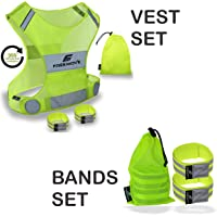 Inventive Safety Reflector Tape Straps Reflective Bands For Wrist Arm Ankle Leg Reflective Running Gear For Night Running Quick Delivery Running Back To Search Resultssports & Entertainment