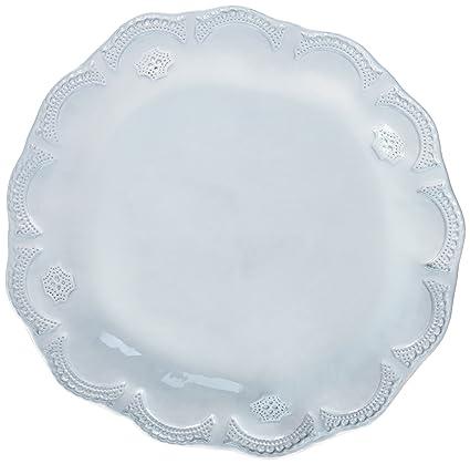 Vietri INC-1100D Incanto Lace American Dinner Plate White  sc 1 st  Amazon.com & Amazon.com   Vietri INC-1100D Incanto Lace American Dinner Plate ...