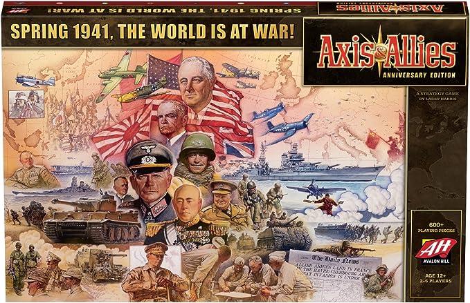 Avalon Hill Board Game Axis & Allies Anniversary Edition english ...