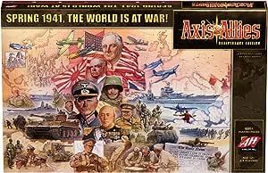 Axis & Allies Anniversary Edition Board Game Multicoloured