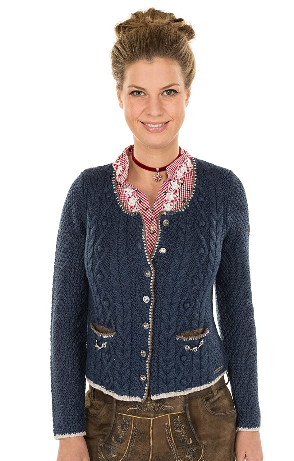 Spieth Wensky Traditional Cardigan Blue at Amazon Women's