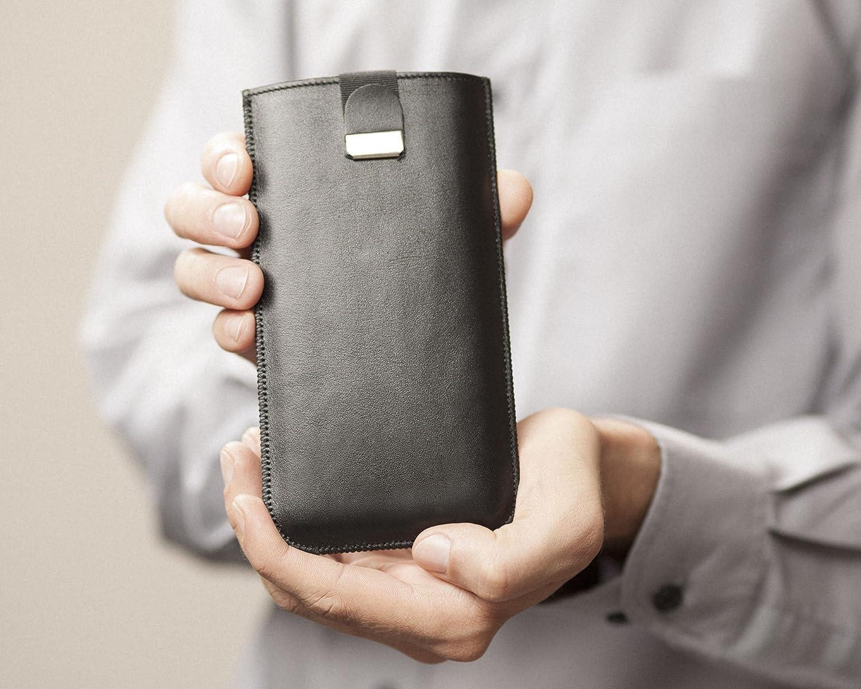 iPhone 11 Pro H/ülle Tasche Handyschale Geh/äuse Ledertasche Lederetui Lederh/ülle Handytasche Handysocke Handyh/ülle Leder Case Cover Etui Schalle Socke Abdeckung
