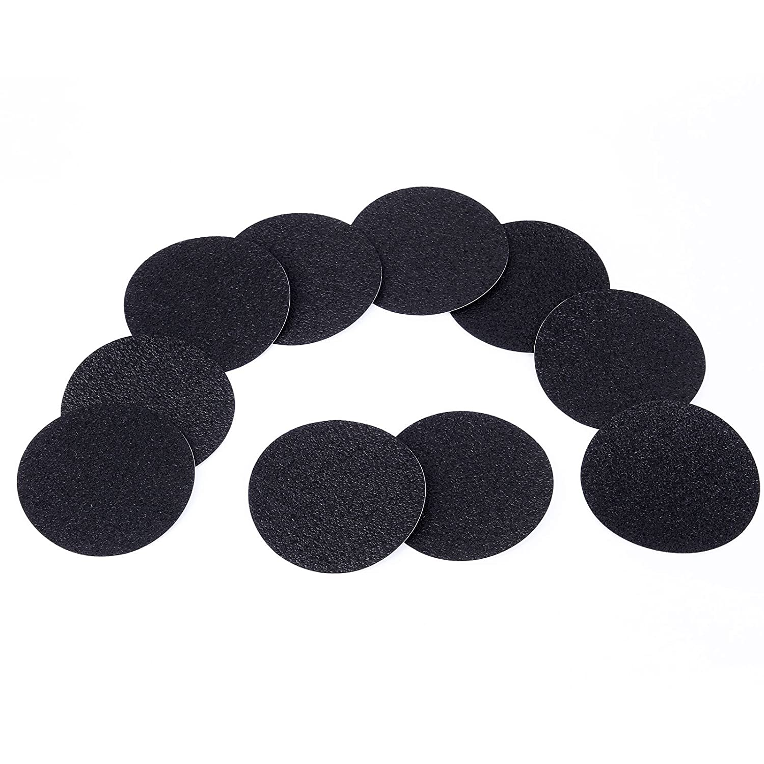 10 PCS Black Non Slip Anti Skid Bath Shower Safety Mat Strong Textured Stickers Floor Safety Anladia