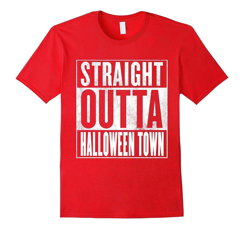 halloween town t shirt straight outta halloween town shirt cl colamaga