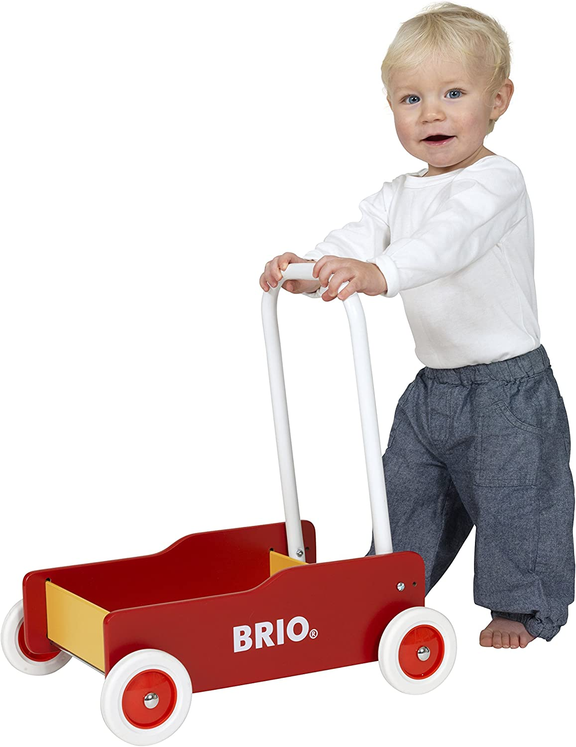 BRIO 31350 - Toddler Wobbler   The Perfect Toy for Newly Mobile Toddlers For Kids Ages 9 Months and Up
