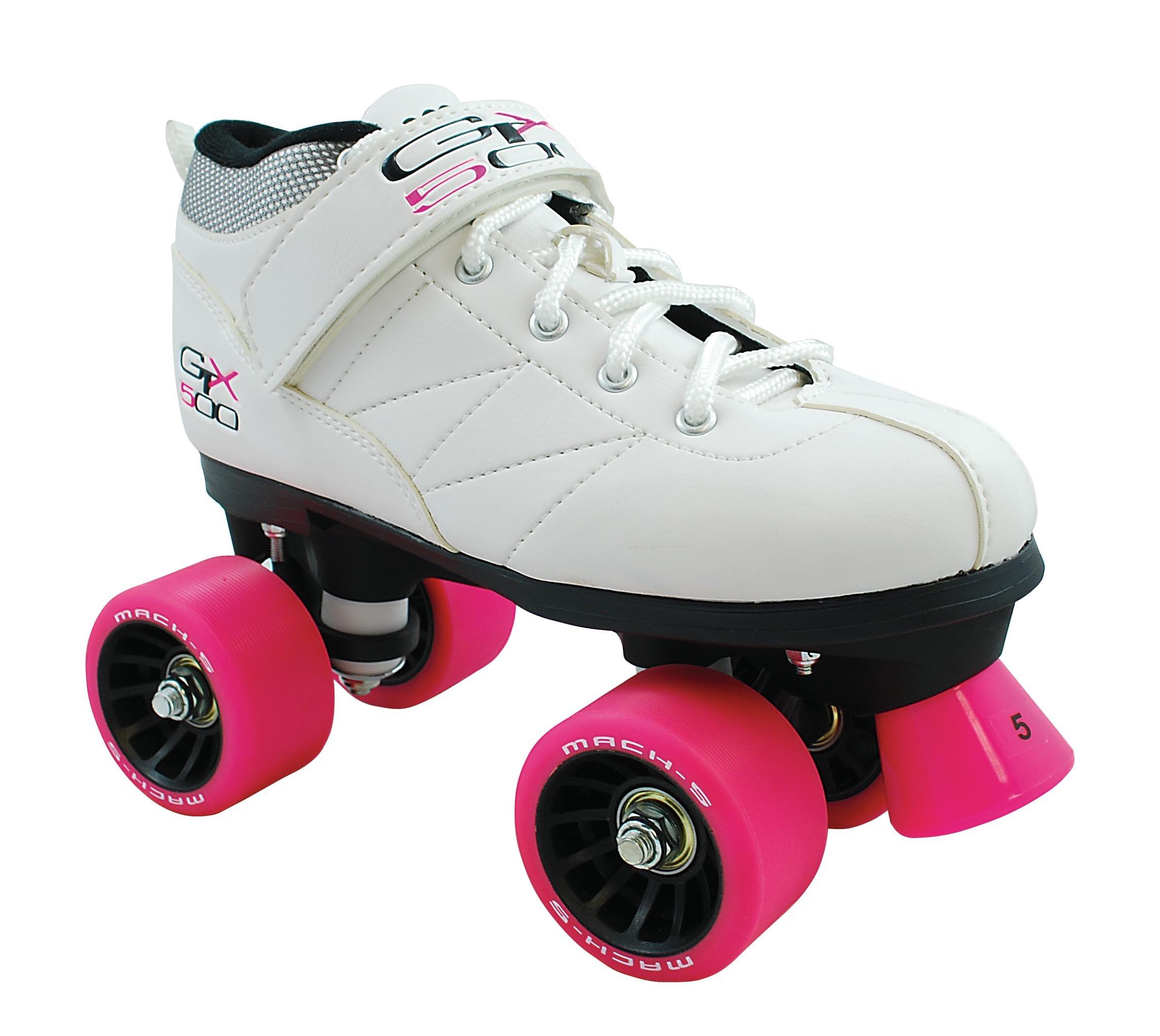 Mach5 GTX 500 Roller Skate - White - Size 9