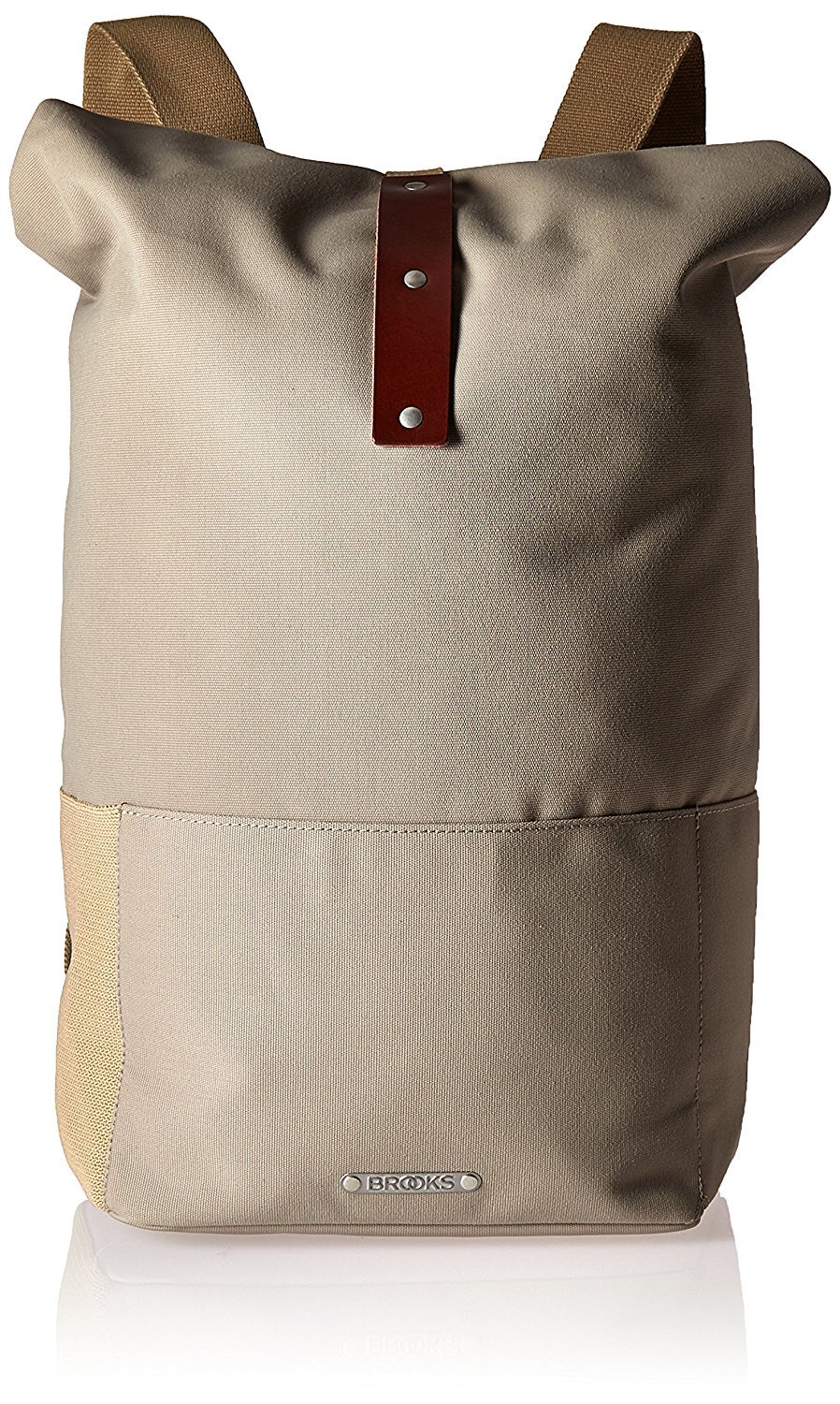 Brooks England Hackney Backpack Dove/Brown [並行輸入品] B077QQQYYJ
