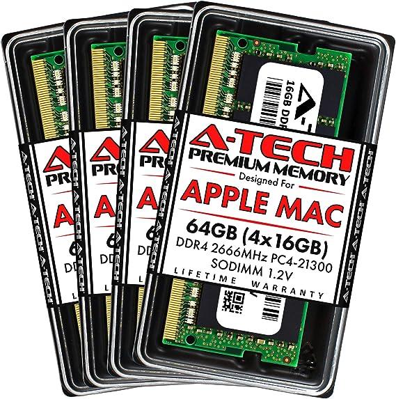 for Synology RS18017xs+ A-Tech 16GB Kit DDR4 PC4-21300 2666Mhz ECC Registered RDIMM 1rx8 Server Memory Ram 2 x 8GB AT362588SRV-X2R1