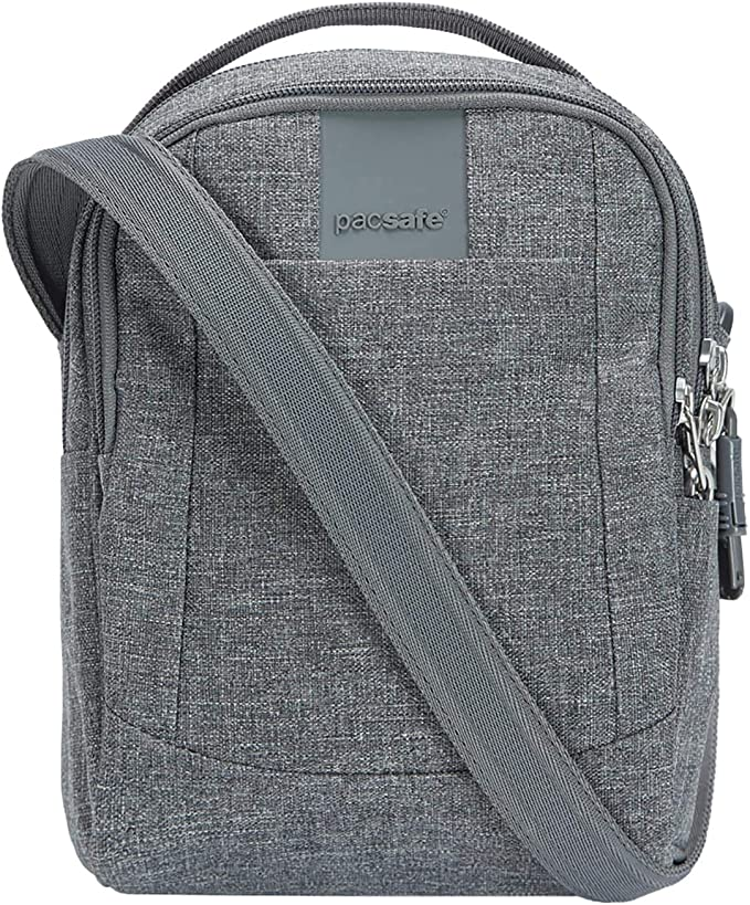 Pacsafe Metrosafe LS100 3 Liter Anti Theft Shoulder Bag Fits 7 inch Tablet