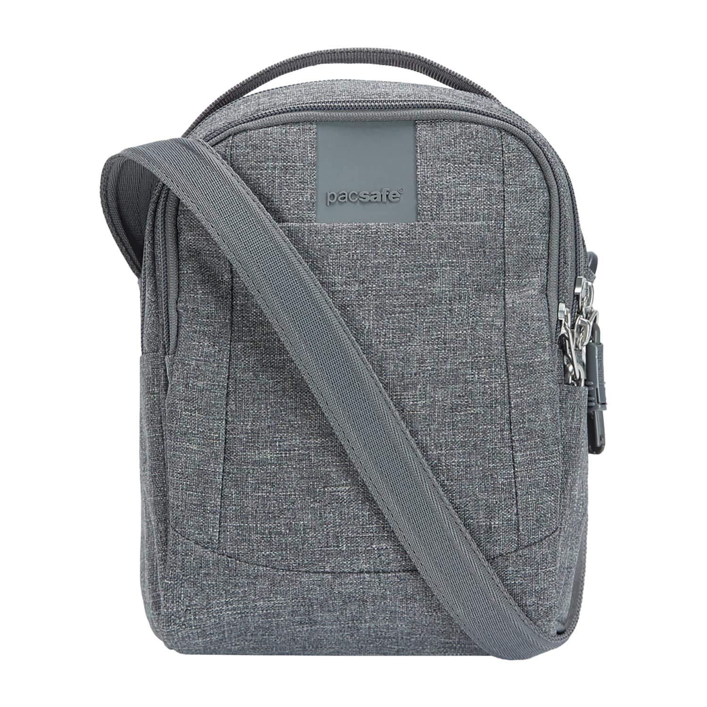 PacSafe Metrosafe LS100 Anti-Theft Cross Body Bag Messenger Bag, 23 cm, 3 liters, Black (Black 100)