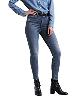61003a1c52545b Levi's Women's Mile High Super Skinny: Amazon.ca: Clothing & Accessories