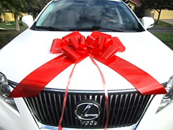 Weebumz Giant Bows For Car Big Bow For A Huge Gift